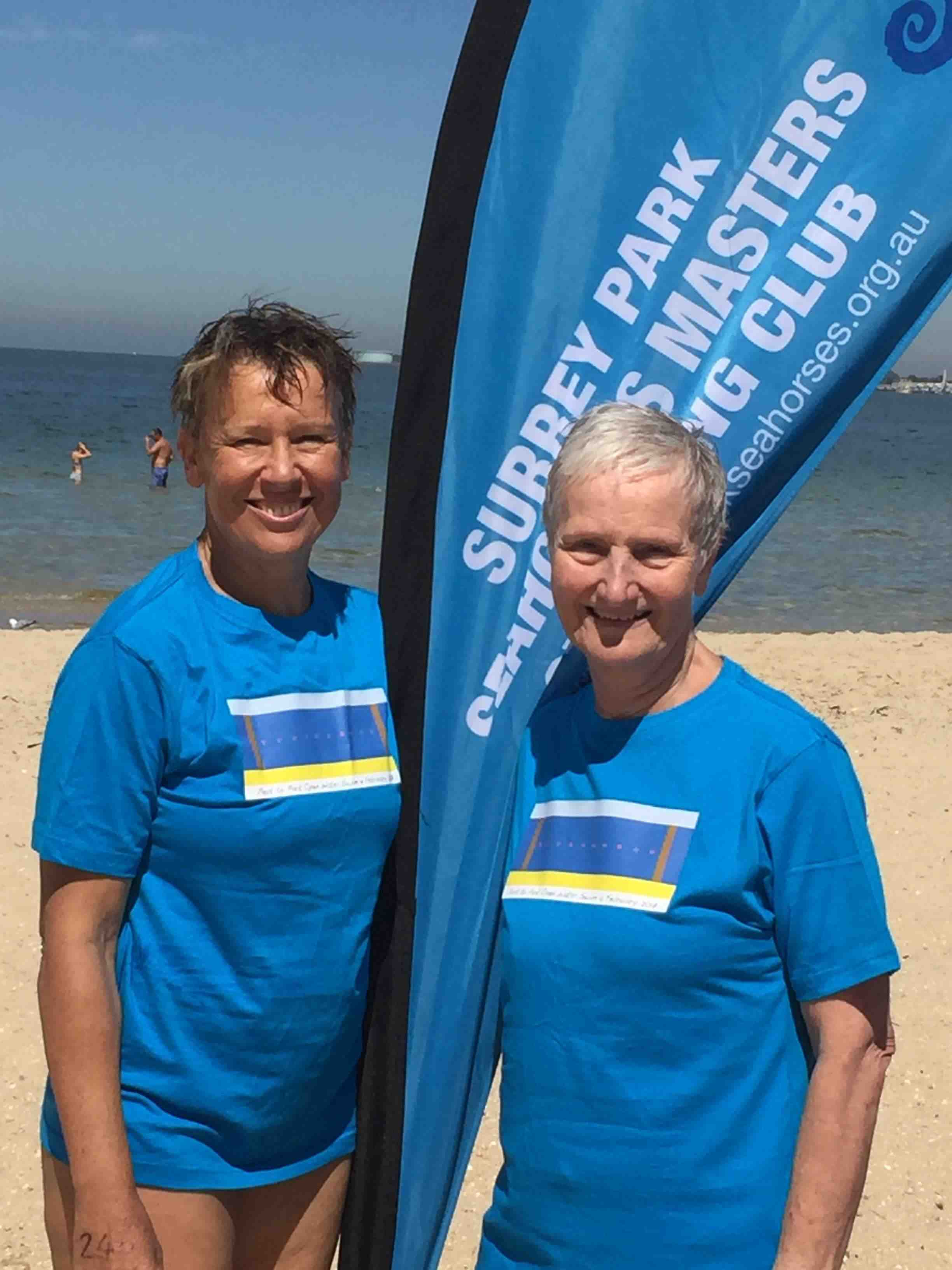 Lesley and Dorothy early 2017 Open Water Season