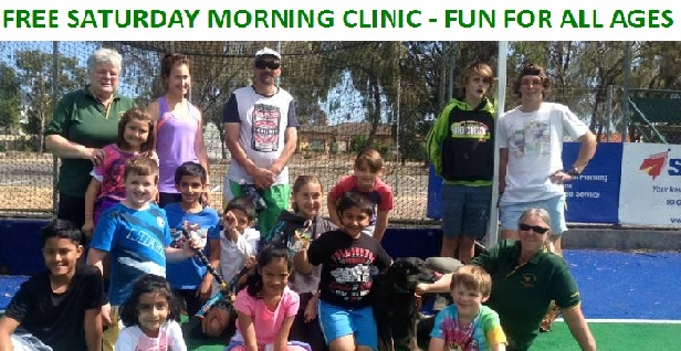 FREE Saturday Morning Come and Try Clinics 9am to 10am