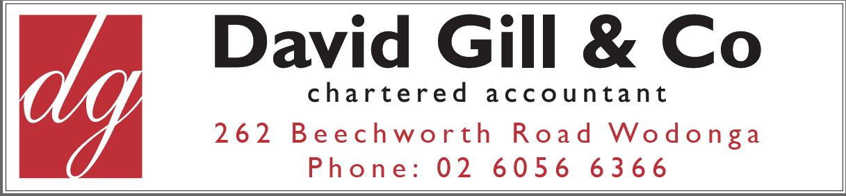 David Gill & Co Chartered Accountants 262 Beechworth road Wodonga 026056 6366