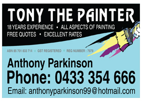 Tony The Painter