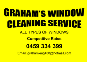 Graham the window cleaner