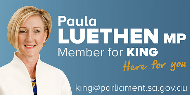 Paula Luethen MP - Member for King
