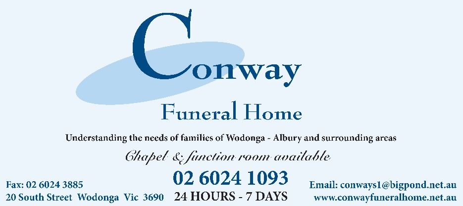 Conway Funeral Services 20 South Street Wodonga 026024 1093