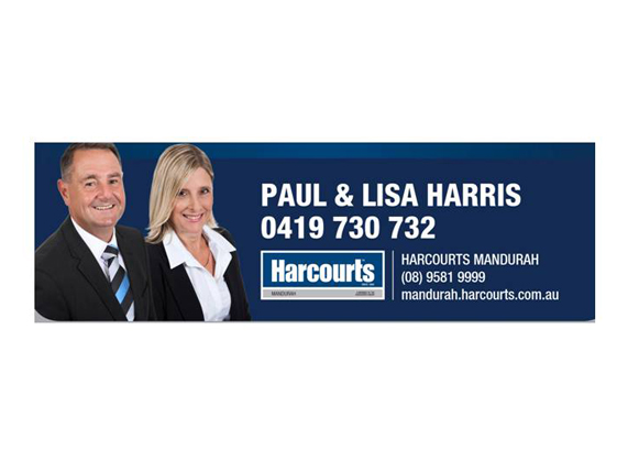 Paul & Lisa Harris -  Harcourts Real Estate Mandurah