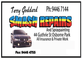 Terry Goddard Smash Repairs