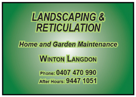 Landscaping & Reticulation