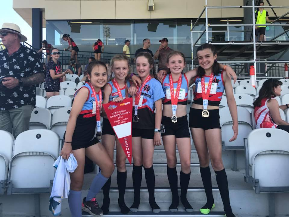 under 11 girls 4 x 100m second.jpg