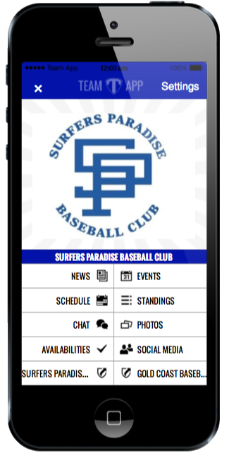 Team App Surfers Baseball App
