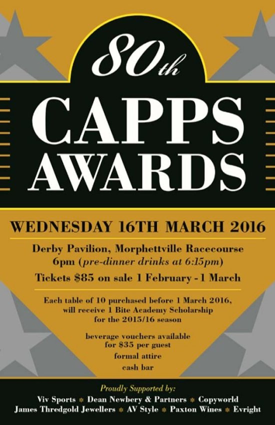 2016 CAPPS Ceremony Poster