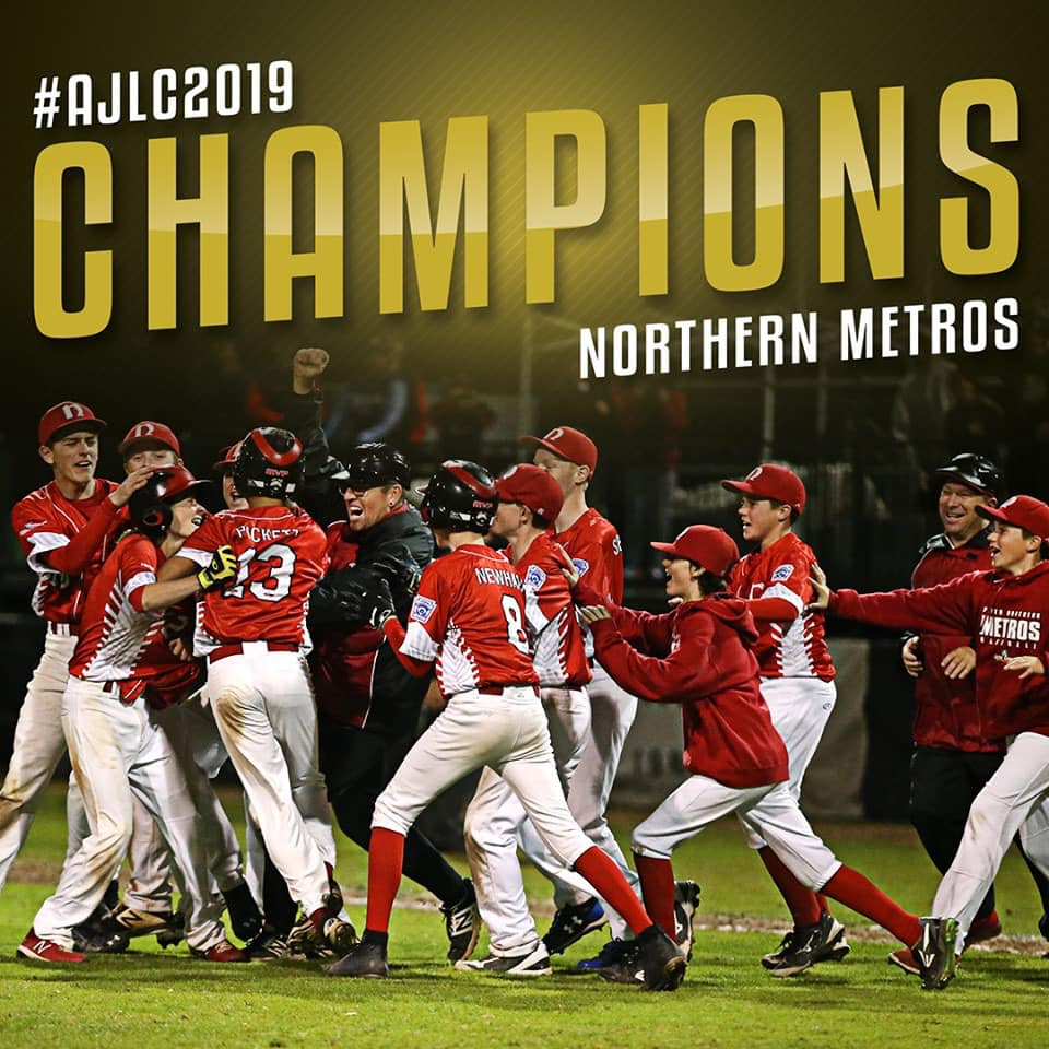 Northern Metros claim Junior League National Championship - off to World Series
